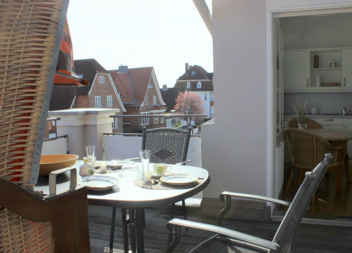 Apartment mit Balkon